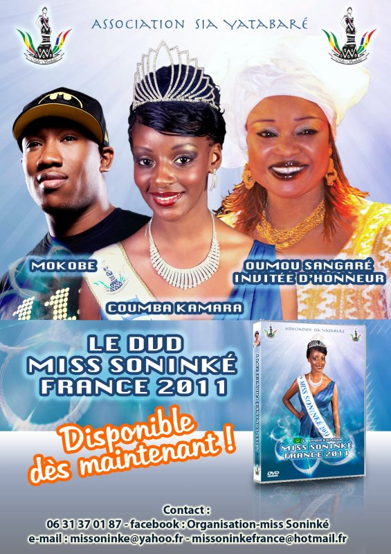 Le DVD de miss sonink france 2011 vient de sortir